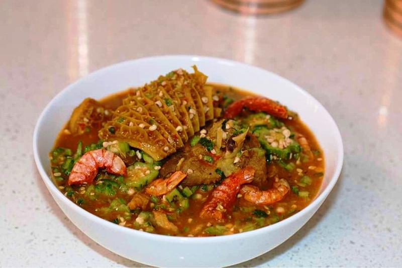 Oil Free Okro Soup