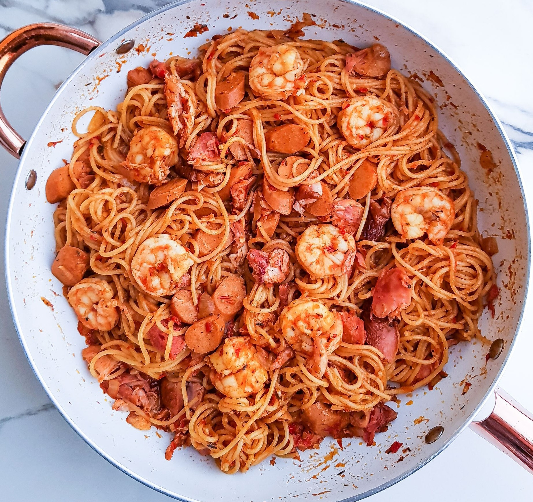 One Pot Jambalaya Pasta