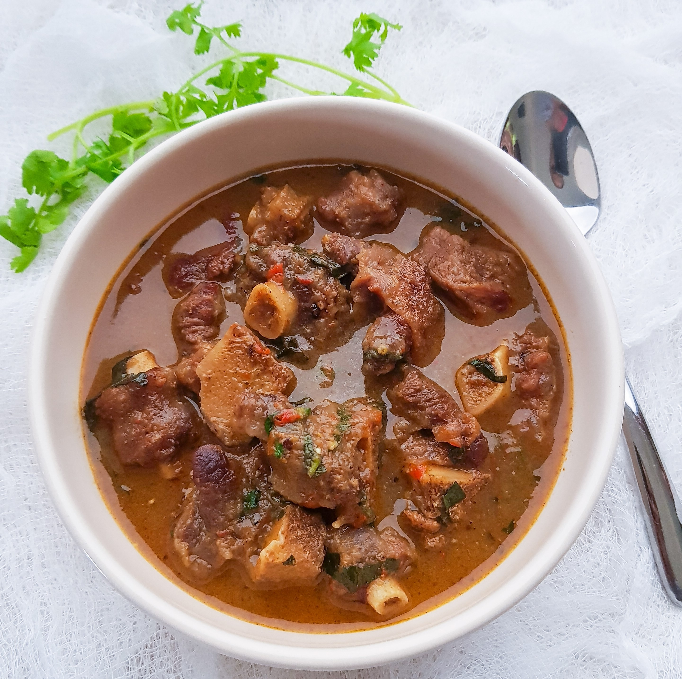 Oxtail Peppersoup