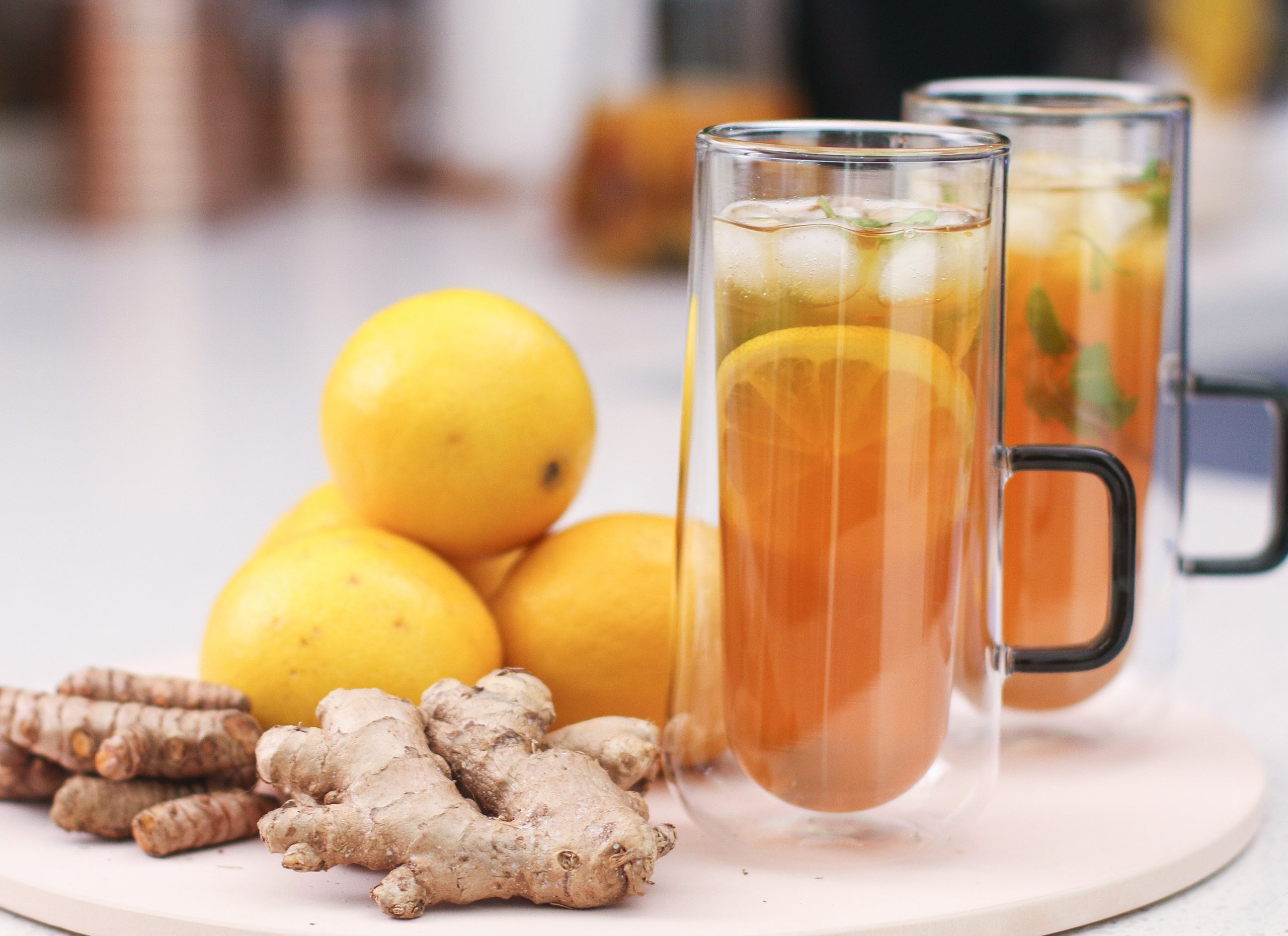 Immunity Boosting Iced Tea